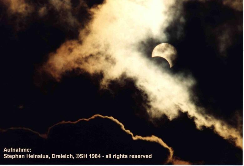 Sonnenfinsternis 1984
