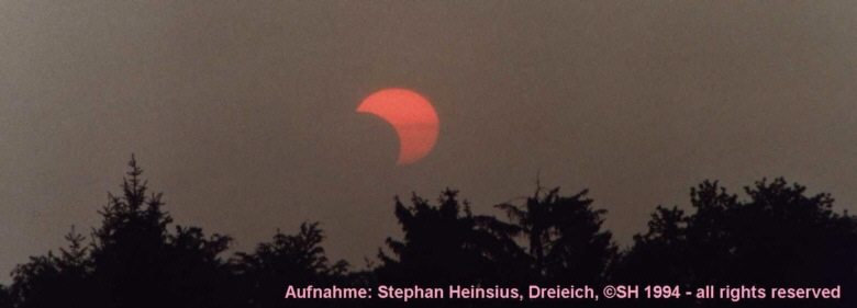 Solar Eclipse Sunset 1994