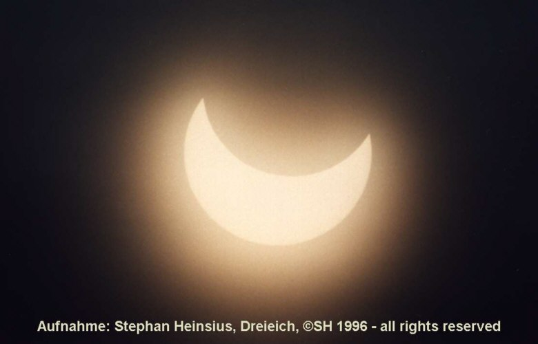 Sonnenfinsternis 1996