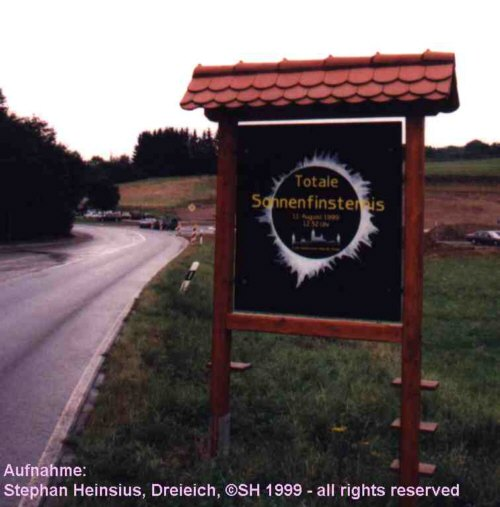 Sign at the entrance of Weil der Stadt