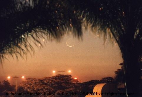 Mond in Harare