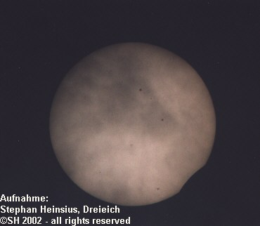 Sun with spots: 1820mm