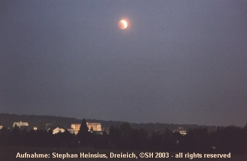 Eclipse über Dreieichenhain