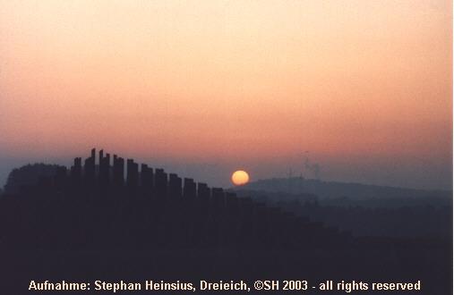 Sonnenaufgang am Ebertsberg