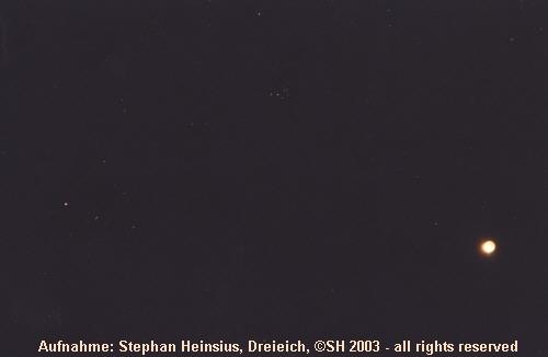 Mondfinsternis 2003 in Taurus