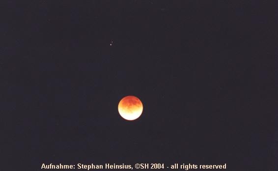 Totale Mondfisternis und Alpha Librae