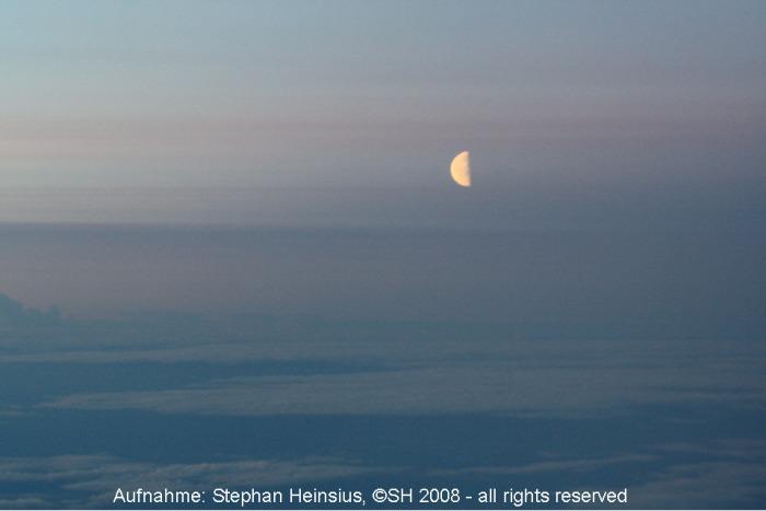 Mondaufgang über Nordrussland