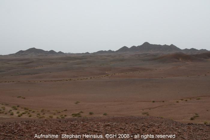 Regen in der Wüste Gobi