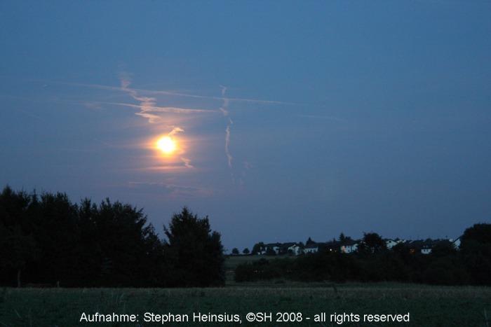 Mond über Götzenhain