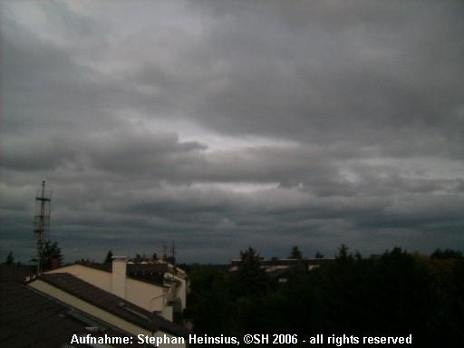 Wolken im Osten