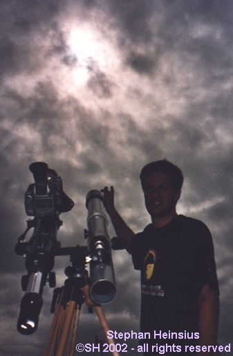 Stephan Heinsius und Eclipse 2002